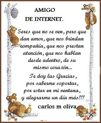 dia de los amigos por internet